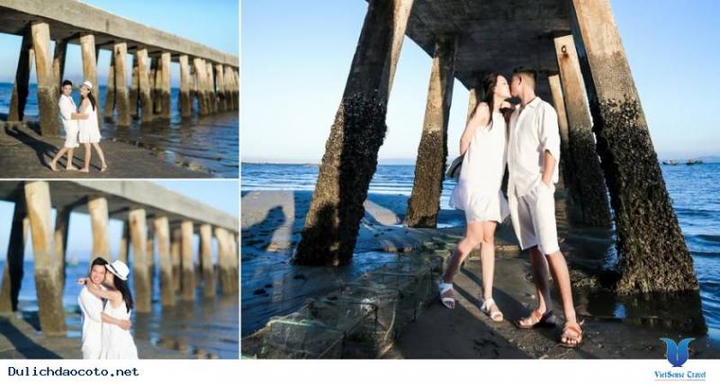 Chụp ảnh cưới ở đảo Cô Tô độc đáo với phong cách ăn mặc giản dị, phóng khoáng vô cùng cá tính