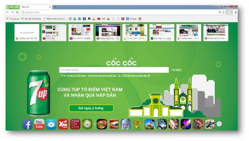 Cốc cốc là một website cung cấp công cụ tìm kiếm thuần Việt