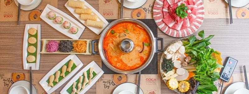 COCA Restaurant - Thai Hot Pot Restaurant
