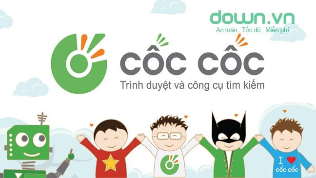 Cốc Cốc cũng là một cổ máy tìm kiếm thông tin quen thuộc ở Việt Nam hiện nay