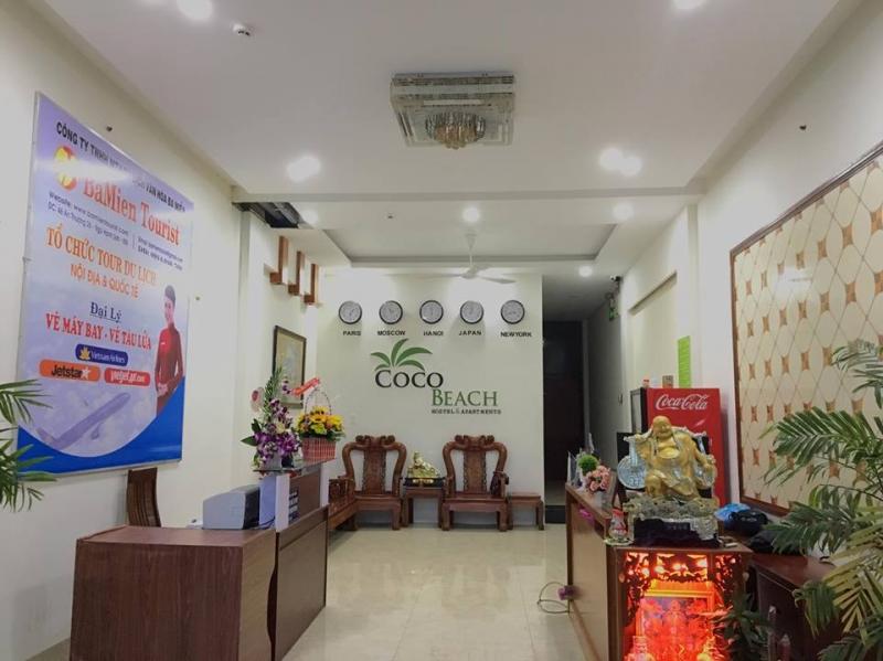 Khách sạn Coco Beach Hostel nằm cách trung tâm thành phố 3km