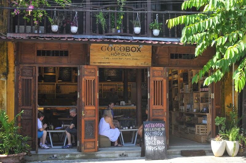 Cocobox là một tổng thể hài hòa giữa vẻ mộc mạc và nét hiện đại y như Hội An ngày nay