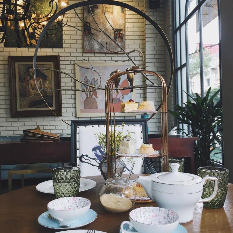 Set trà chiều ở Cocoon đẹp thế này đây