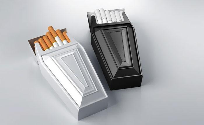Coffin-shaped Cigarette Case