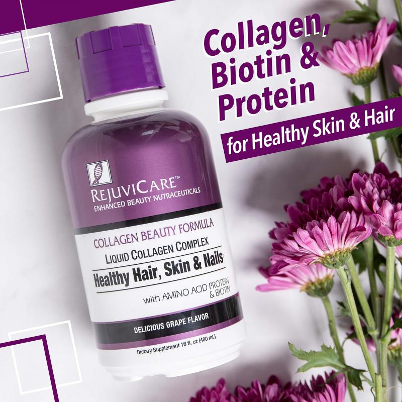 Collagen nước làm đẹp da, móng, tóc RejuviCare Collagen Beauty Formula Liquid