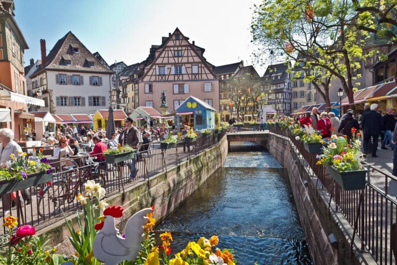 Thị trấn Colmar, Pháp