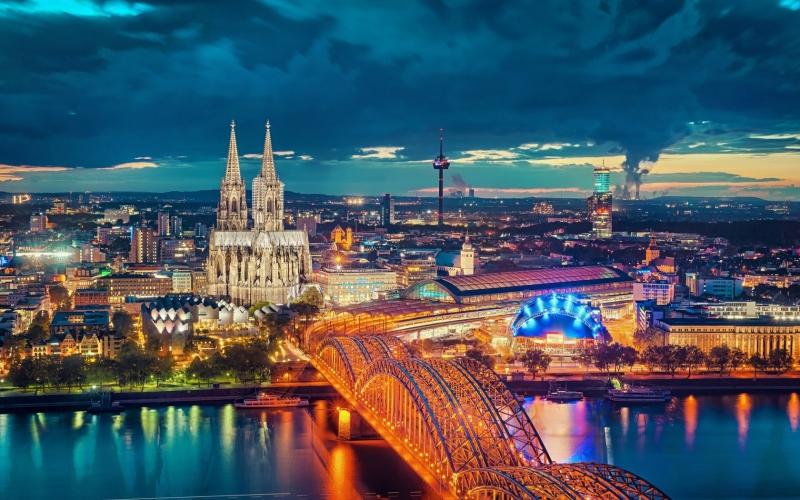 Kết quả hình ảnh cho thành phố Cologne