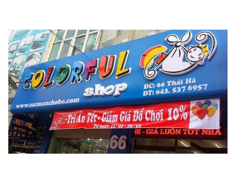 Colorful Shop 66 Thái Hà