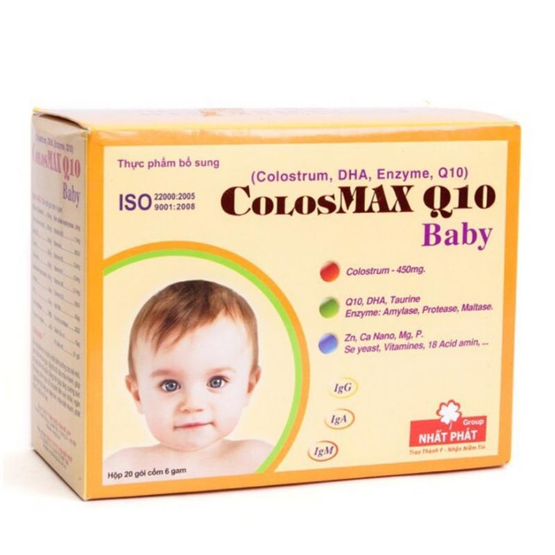 Sản phẩm được các bậc cha mẹ tin dùng, ColosMax q10