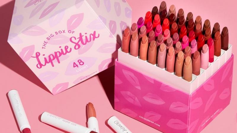ColourPop Big Box of Lippie Sitx với 48 màu son