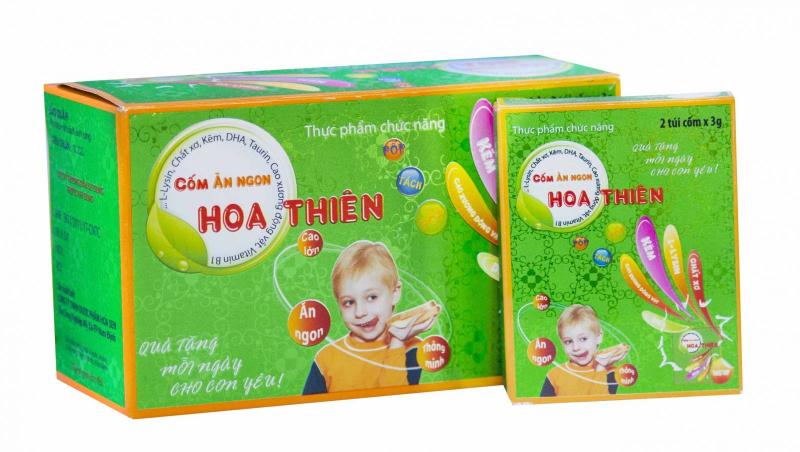 Cốm ăn ngon Hoa Thiên
