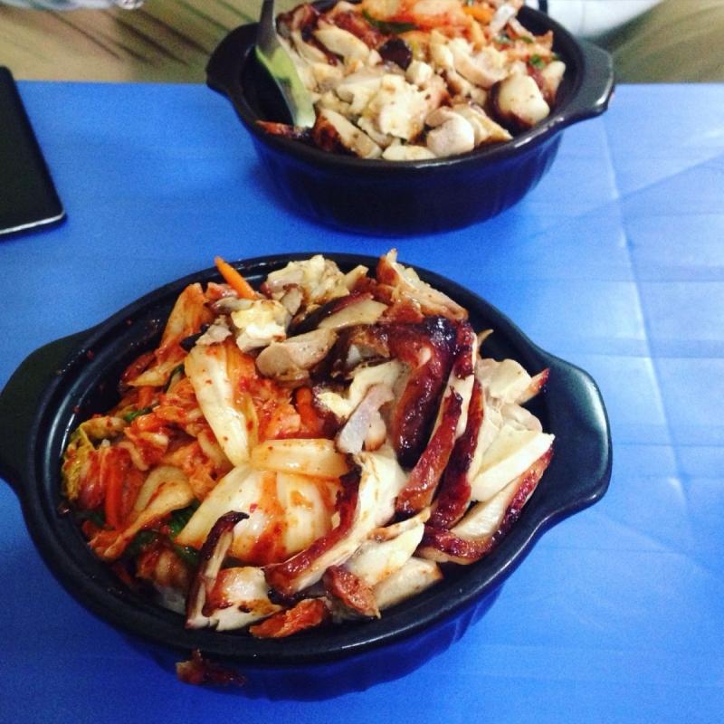 Cơm gà trộn Thiên đường ăn vặt-Đặng Văn Ngữ