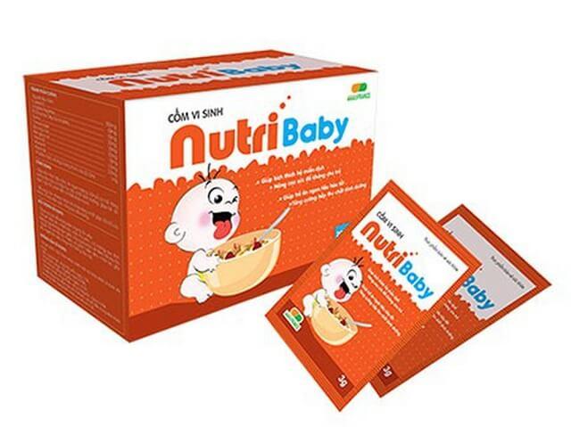 Cốm vi sinh NutriBaby