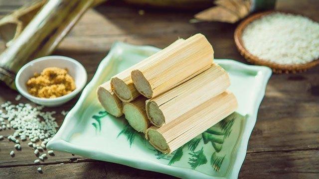 Cơm lam - món ngon số 1 Thái Nguyên