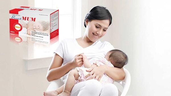 Cốm lợi sữa BreastMUM giúp sữa mẹ đặc và thơm ngon hơn, đạt chất lượng tốt và ổn định nhất. Từ đó giúp bé phát triển toàn diện hơn và ngủ ngon ngủ sâu giấc hơn.