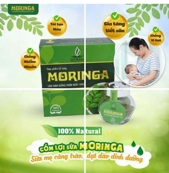 Cốm lợi sữa Moringa