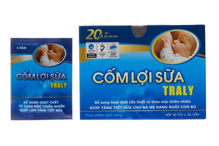 Cốm Lợi Sữa Traly