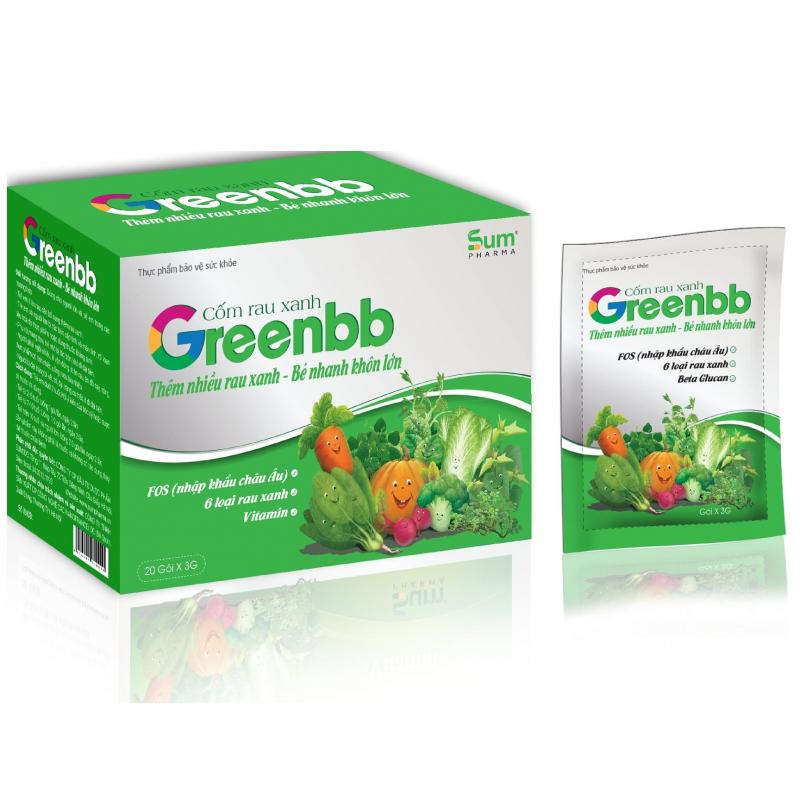 Cốm rau xanh GreenBB