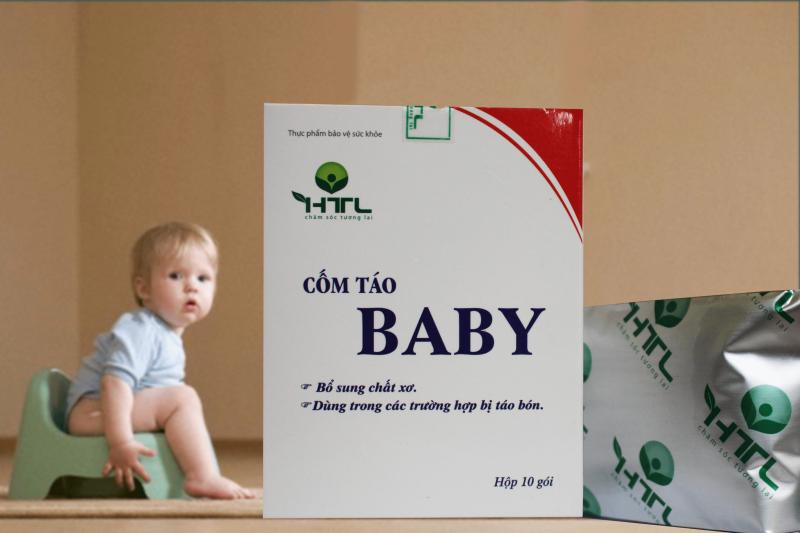 Thực phẩm bảo vệ sức khỏe Cốm Táo Baby