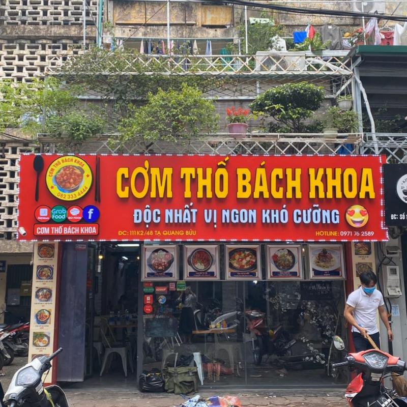 CƠM THỐ BÁCH KHOA - Cs Tạ Quang Bửu