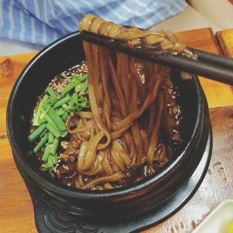 Mỳ tương đen Hàn Quốc tại Family quán