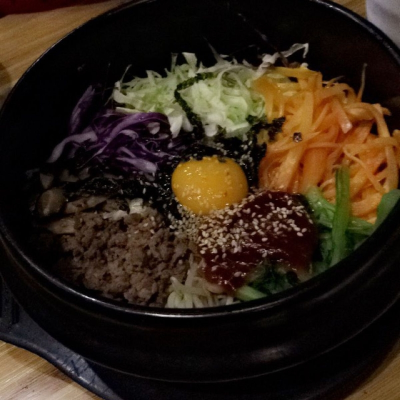 Cơm trộn Hàn Quốc tại Hancook Restaurant,