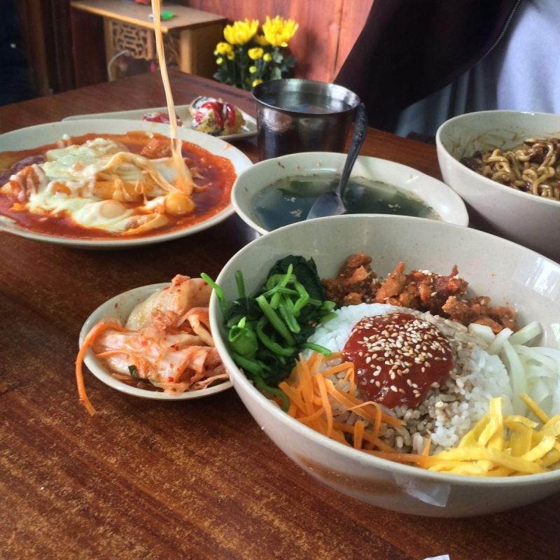 Cơm trộn Hàn Quốc tại Kều Xay Sạch