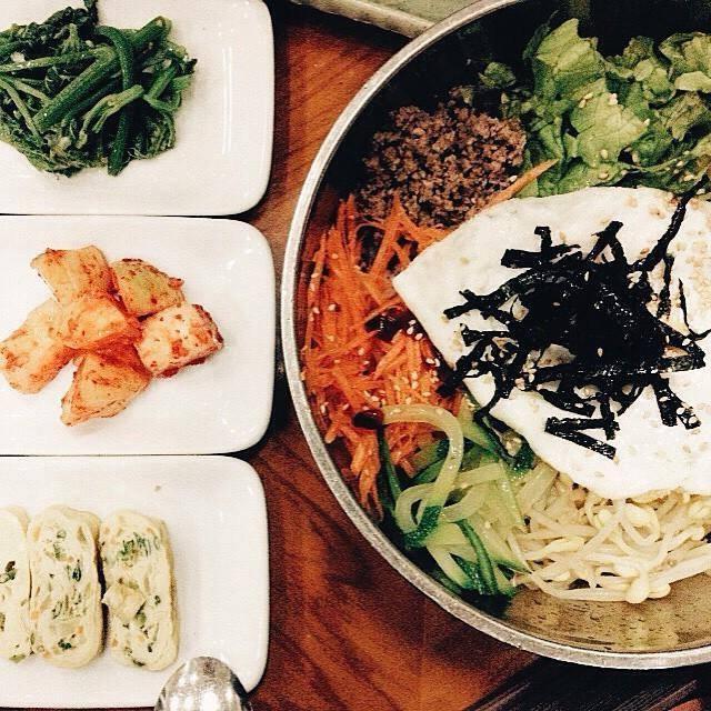 Cơm trộn tại Kim Bap Cheon Guk