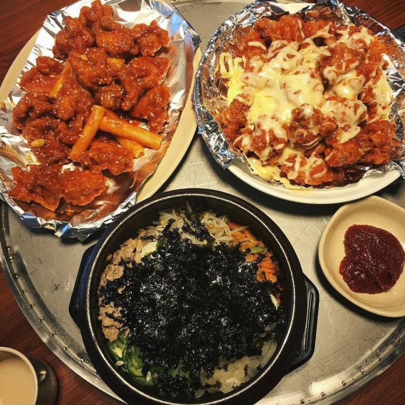 Cơm trộn Hàn Quốc tại Mr.Dakgalbi