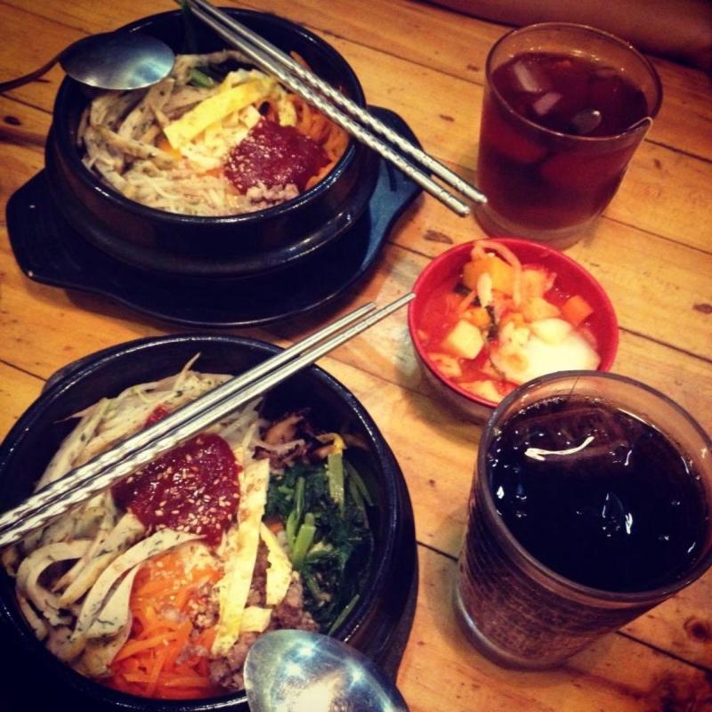 Cơm trộn Hàn Quốc tại Simisi Restaurant