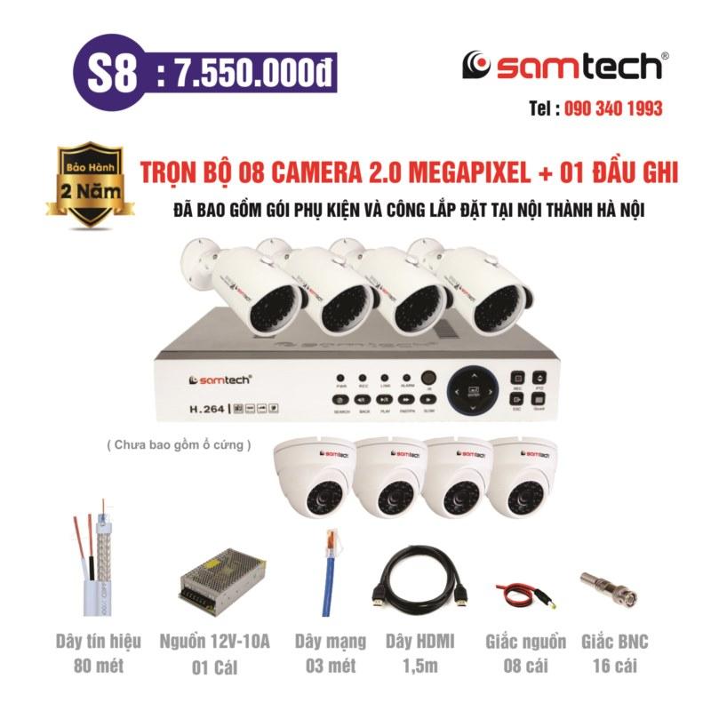 Combo S8 -Samtech.vn