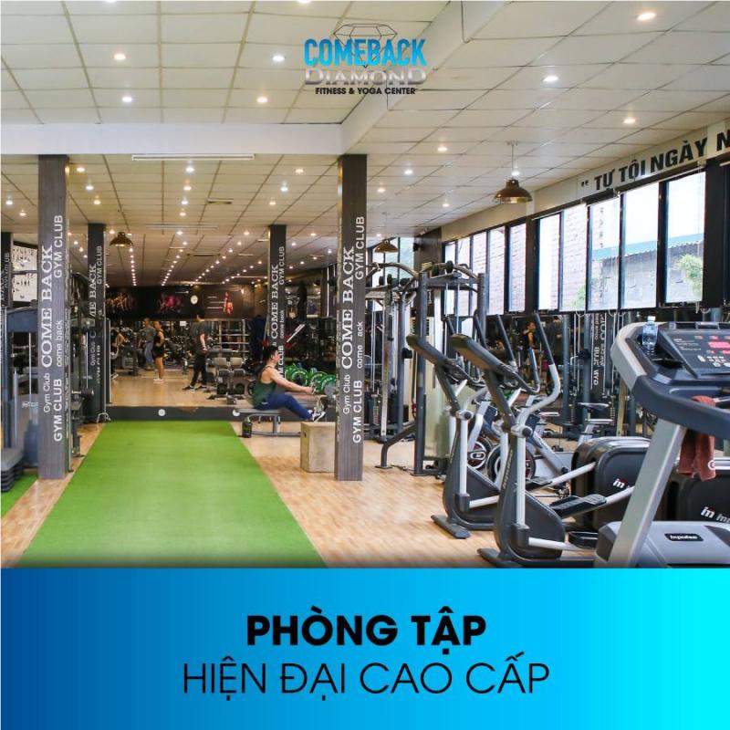 Phòng tập Comback Gym - Thái Nguyên