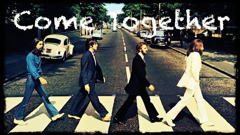 Hãy bước đi cùng nhau là tự đề và cũng là ý nghĩa chính của ca khúc