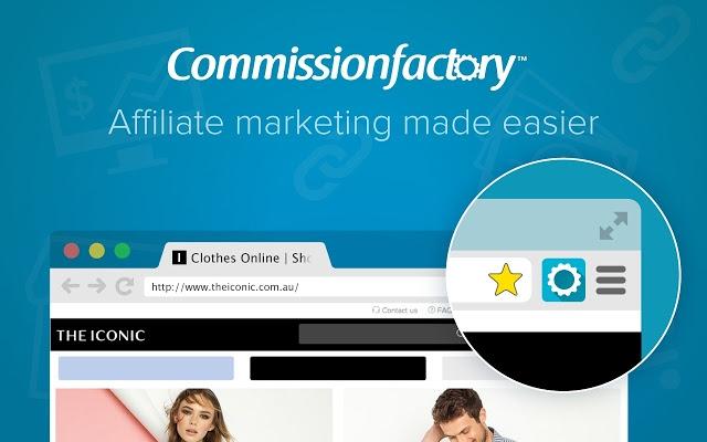 Commission Factory được biết đến là một dịch vụ tiếp thị của Australia