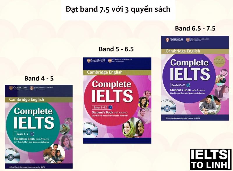 Bộ sách cho những bạn mới bắt đầu học IELTS.