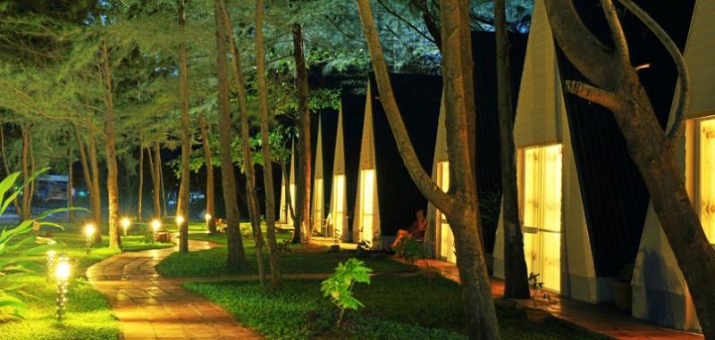 cảnh quan Con Dao Camping hotel