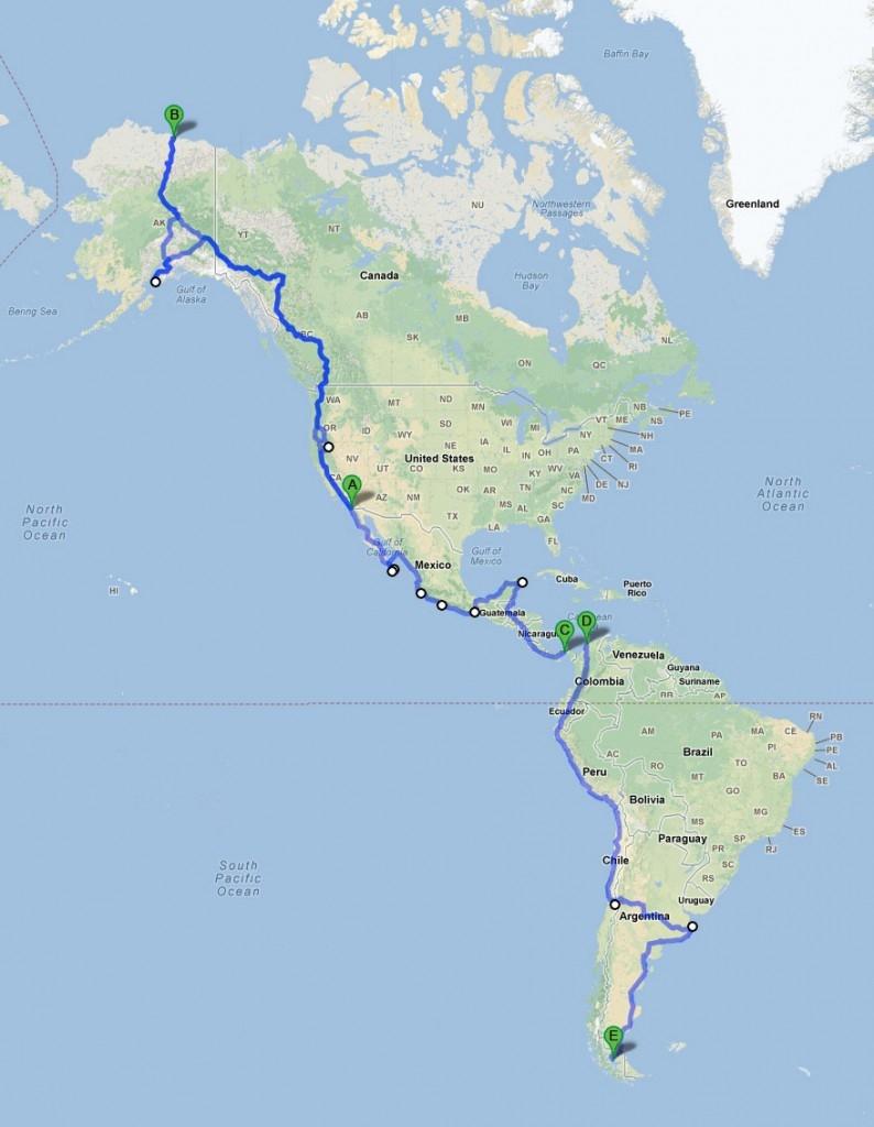 Con đường dài nhất thế giới - Pan-American
