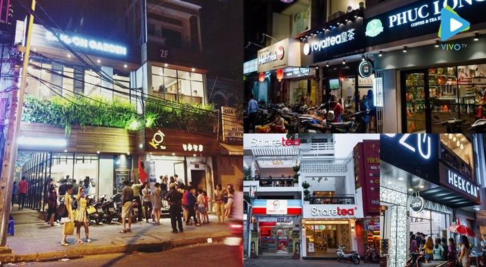 Top 5 con đường trà sữa ngon nhất Sài Gòn