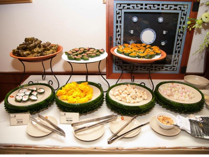 Các món ăn tại nhà hàng