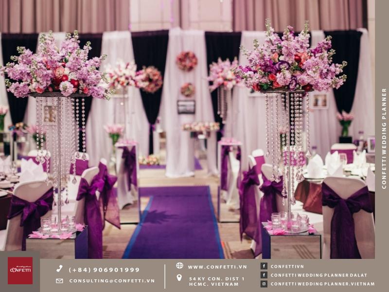 Hãy để Confetti chứng minh và khẳng định vị thế của mình trong lõng khách hàng bằng cách giúp bạn thực hiện một Wedding Concept như mơ cho đám cưới của bạn!