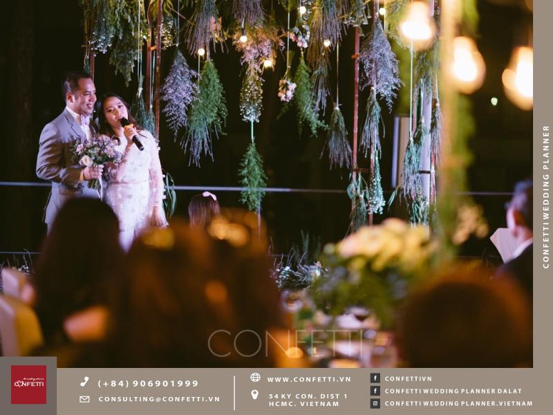 Confetti Vietnam wedding planner mang đến được đánh giá là hoàn hảo về chất lẫn về lượng.