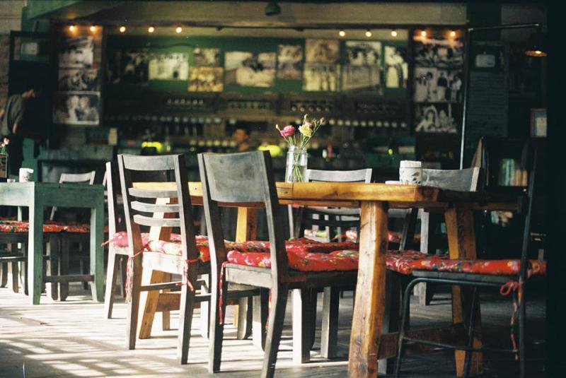 Không gian bên trong của Cộng Cafe