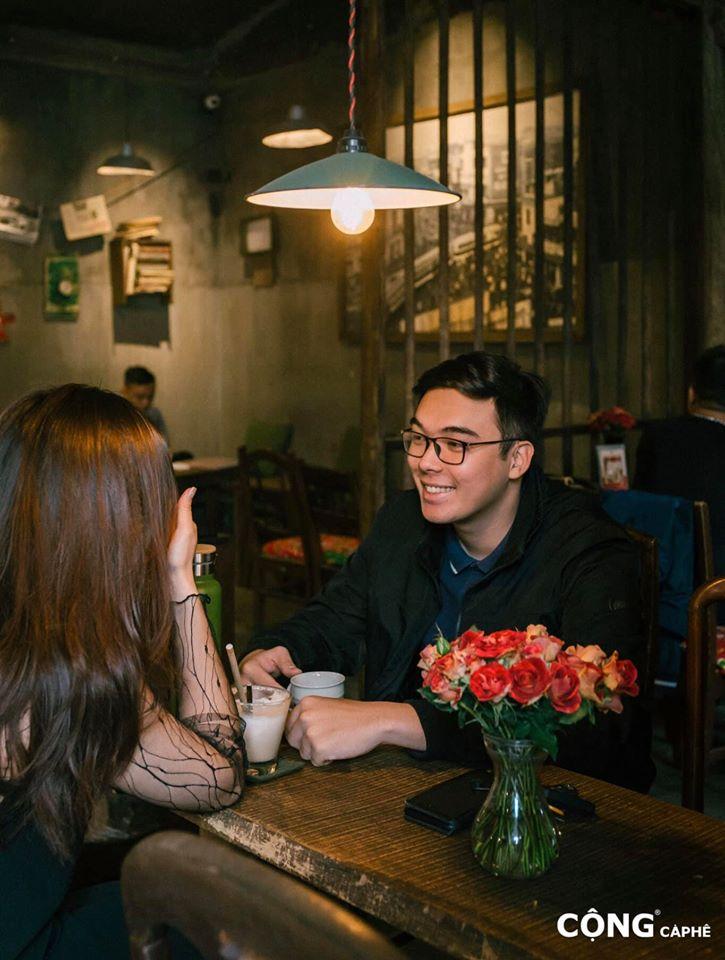 Cộng Cà Phê là nơi hẹn hò lý tưởng