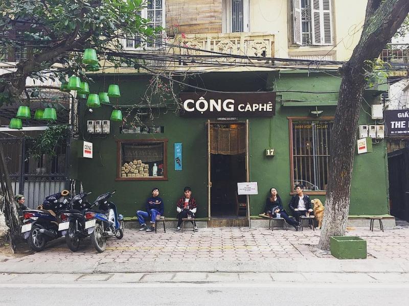 Cộng caphe Triệu Việt Vương