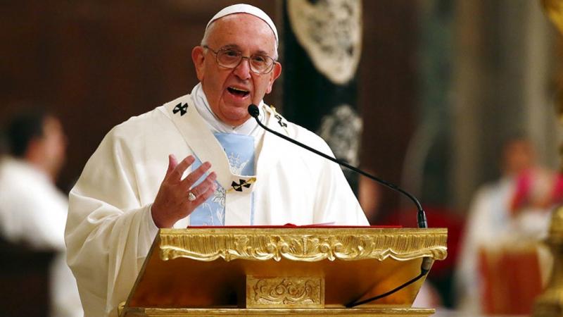 Giáo hoàng Francis - người đang đứng đầu Giáo hội Công giáo Roma