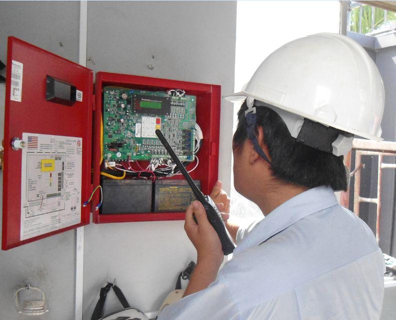 Công PCCC Quang Huy Đạt