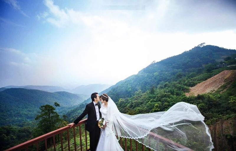 Chụp ảnh cưới tại Cổng Trời, Tam Đảo