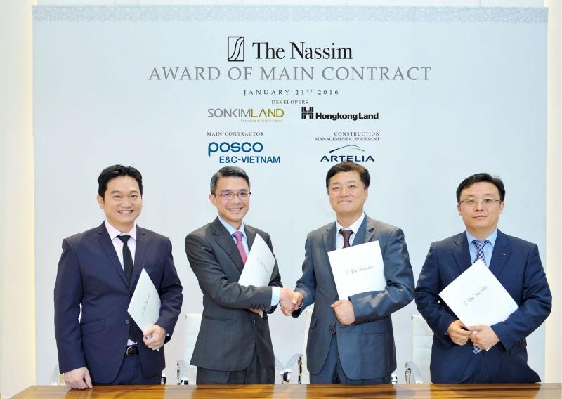 Posco trở thành nhà thầu xây dựng của rất nhiều các dự án lớn tại Việt Nam.