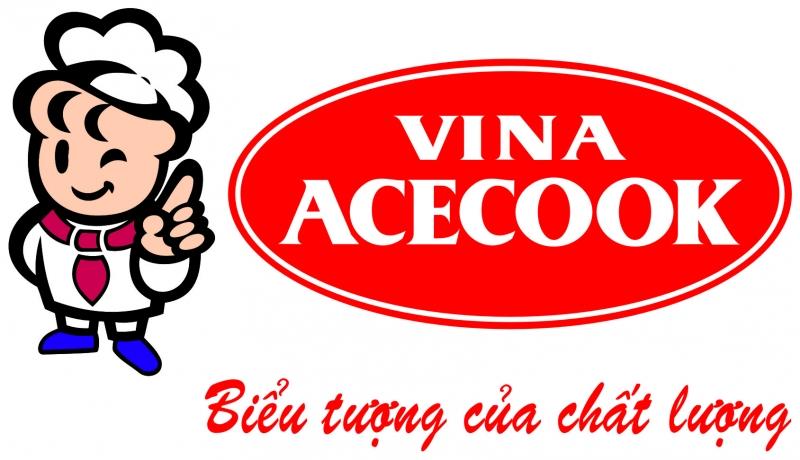 Logo và khẩu hiệu của Acecook Việt Nam