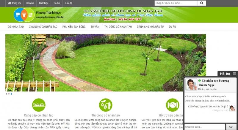 Cỏ nhân tạo sân vườn giá rẻ số 1 tại Hà Nội